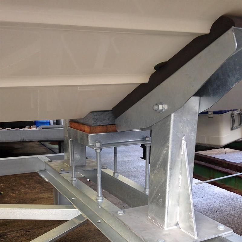 ハル受けパッドⅣ(厚み60mm)大型艇用